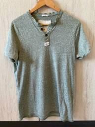 Camiseta Abercrombie e Fitch Verde M