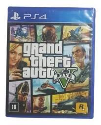 Jogo Gta 5 Grand Theft Auto V Físico Ps4 Game Rockstar