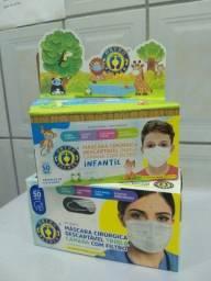 Máscaras - 50Un - (Para vender logo)