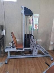 Aparelho de musculação leg sentado carga