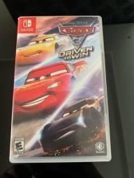 Jogo carros 3 para Nintendo switch
