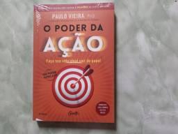 Livro - O poder da açao; Paulo Vieira