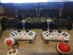 Controles playstation 3 e PlayStation 4