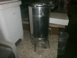 Cafeteira industrial - com 2 torneiras - água e café - sem funcionar precisa de reparos