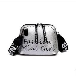 Bolsa De Ombro Feminina Mini Girl