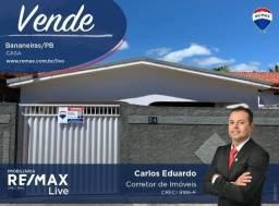 Casa com 4 dormitórios à venda, por R$ 200.000 - Bananeiras/PB