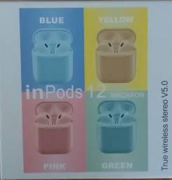 Fone Sem Fio Bluetooth I12 Tws Impods12 Xtrad