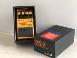 Pedal Boss Turbo Distortion DS 2 - IMPECÁVEL