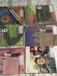 Livros 6º e 7ª ano em ótimo estado