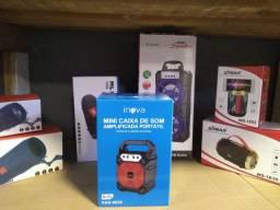 Caixa de Som Inova Portátil Bluetooth Nova!
