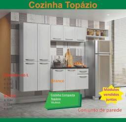 Cozinha topazio - de aco