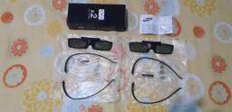 Par de óculos 3D original da Samsung (Novo) para tv Samsung 3D