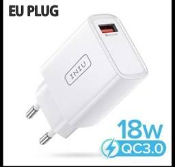 Título do anúncio: Carregador de Parede Iniu 18W USB