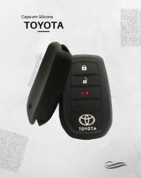 Capa de Silicone Chave Presença Toyota Hilux