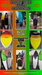 Promoção Stand-Up Paddle com remo e deck - Custom