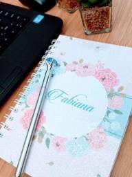Título do anúncio: Caderno personalizado - Use e abuse da sua imaginação e faça um caderno único