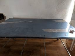 Mesa de inox nova, nunca foi usada no plástico
