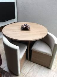 Mesa de Jantar com 4 Cadeiras Kappesberg