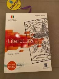 Conjunto de Livros Didáticos de Literatura Projeto Múltiplo nunca usados