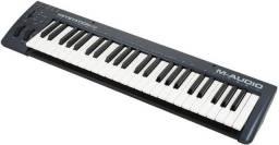 teclado midi m áudio keystation 49 teclas