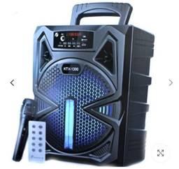 Super caixa de som  com 40 centímetros microfone Bluetooth rádio