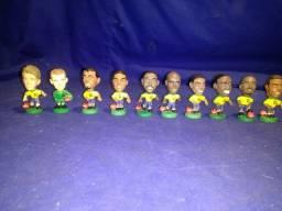 Coleção completa de mini craques