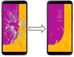 Vidro da Tela para Samsung J8 J800 , Mantenha a Originalidade do seu Estimado Celular!