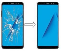Vidro da Tela para Samsung A8 Plus 2018 A730, Mantenha a Originalidade do seu Celular!