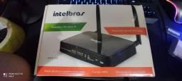 Roteador Intelbras 300MPBS 2 antenas Novo