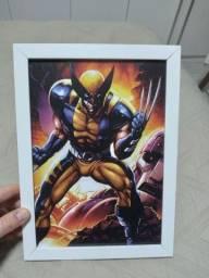 Título do anúncio: Quadro do Wolverine novo