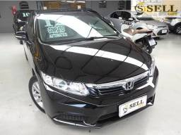 Honda Civic 1.8 Flex LXL 2012 Automatico Preto