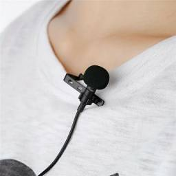 Microfone lapela para smartphone