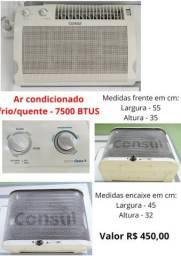 Ar condicionado frio/quente