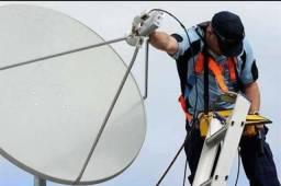 Técnico em todos os tipos de antena e receptores