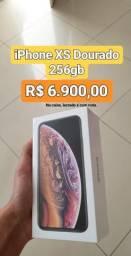 IPhone XS 256gb Gold lacrado com nota