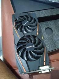Rx 570 funciona perfeitamente, problemas nos coolers,com nota fiscal. aceito cartões