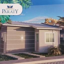 Reserva Paraty, casas de 2/4 no SIM, com o maior terreno padrão lançado, 09 x 24m, 216m2
