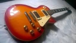 Guitarra modelo Les Paul (marca Art Guitar) + Capa Protetora