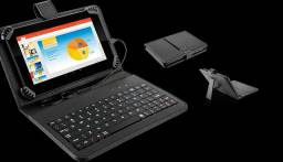 Tablet MS7 Plus com capinha teclado