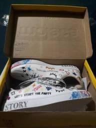 Vendo sapato moleca feminino número 38 novo na caixa sem uso
