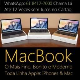 MacBook Air & PRO ( 12X Sem Juros ) O Mais Moderno, Fino e Bonito do Mundo!!
