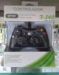 Compre na Loja Wiki Controle Xbox 360 C/ fio