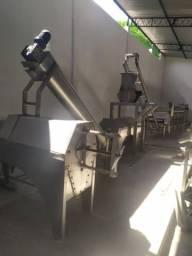 Máquina de popa de fruta industrial