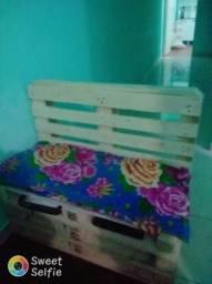 Sofá Rústico de Pallet