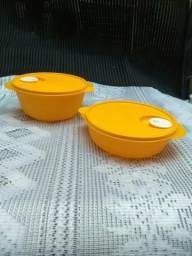 Kit Tupperware novas serve para microondas