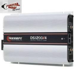 Módulo Taramps DS1200 Digital 04 Canais! 549,99 À Vista ou 12x 55,00 Instalado Canal Som