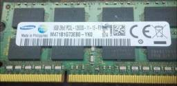 Pente de memória 8 gb PC3l notebook