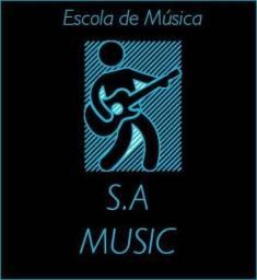 Aulas de Violão, Teclado, Guitarra, Contra baixo e Bateria