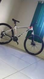 Bicicleta nova com acessórios,passo cartão