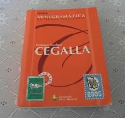 Nova Minigramática Da Língua Portuguesa, Autor: Domingos Paschoal Cegalla. Ano: 2004
